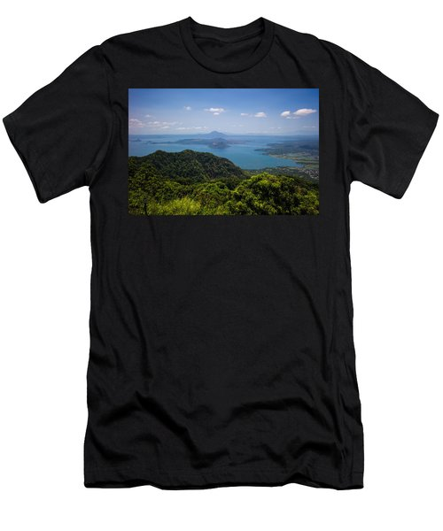 Tagaytay Ridge, Philippines Men's T-Shirt (Athletic Fit)
