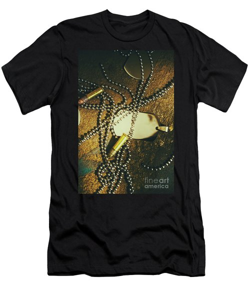 Tagging The Fallen Men's T-Shirt (Athletic Fit)