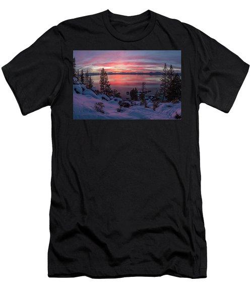 Tahhhhhoe Sunset Men's T-Shirt (Athletic Fit)