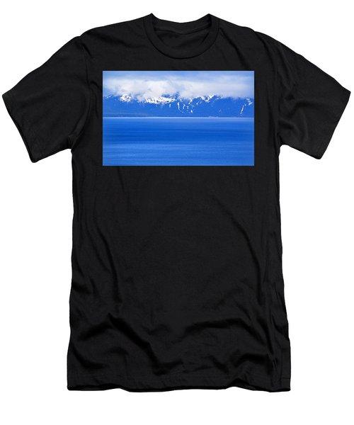 Tahoe Blue Men's T-Shirt (Athletic Fit)