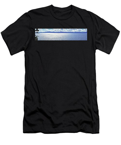 Tahoe From The East Shore Men's T-Shirt (Athletic Fit)