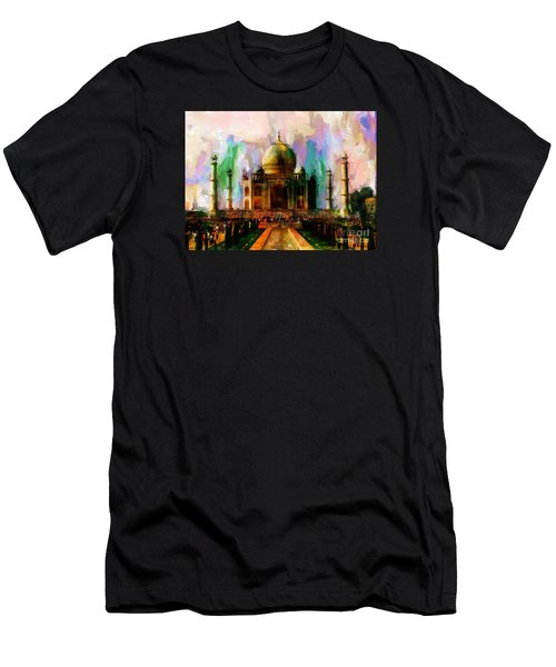 Taj Mehal 009 Men's T-Shirt (Athletic Fit)