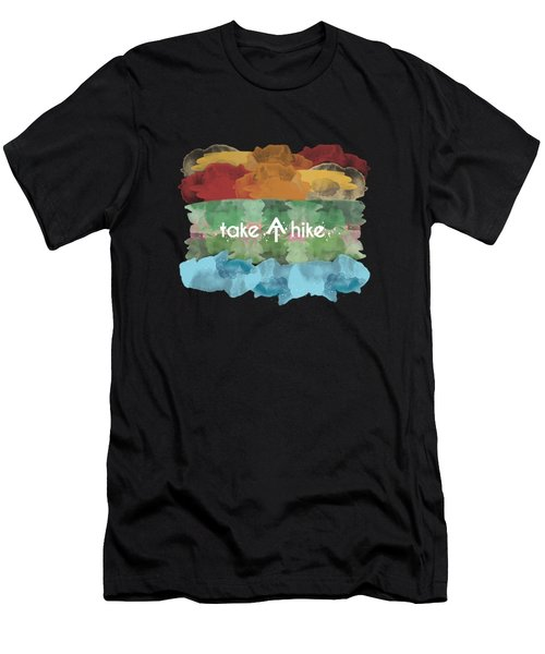 Take A Hike Appalachian Trail Men's T-Shirt (Athletic Fit)