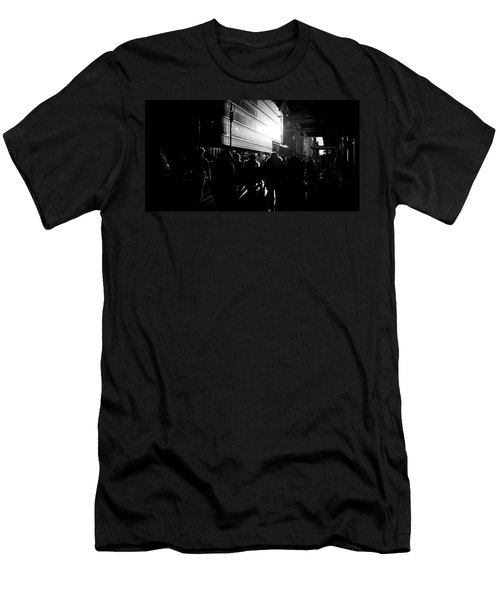 Men's T-Shirt (Athletic Fit) featuring the photograph Take A Stroll With Me Once Again by Johnny Lam