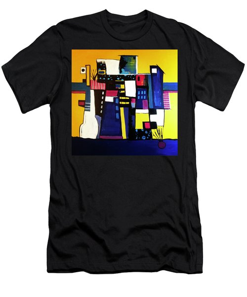 Take The Stairs Men's T-Shirt (Athletic Fit)