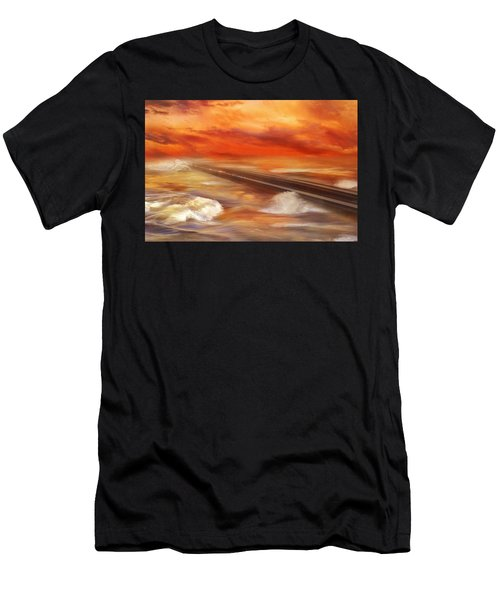 Take The Weather With You Men's T-Shirt (Slim Fit) by Iryna Goodall