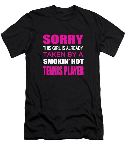 Taken By A Tennis Player Men's T-Shirt (Athletic Fit)