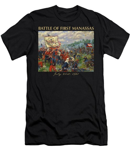 Taking Griffin's Battery - 11th New York Fire Zouaves And 14th Brooklyn - Battle Of First Manassas Men's T-Shirt (Athletic Fit)