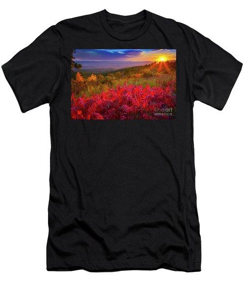 Talimena Evening Men's T-Shirt (Athletic Fit)