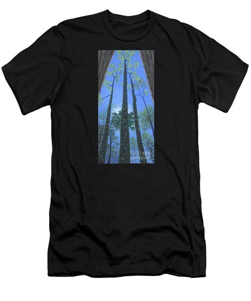 Tall Blue Ridge Beauty Men's T-Shirt (Athletic Fit)
