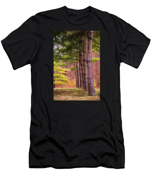 Tall Pines Standing Guard Men's T-Shirt (Athletic Fit)