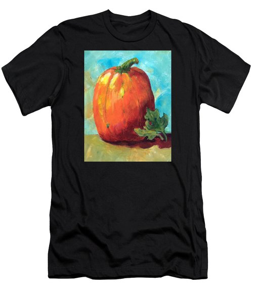 Tall Pumpkin Men's T-Shirt (Athletic Fit)