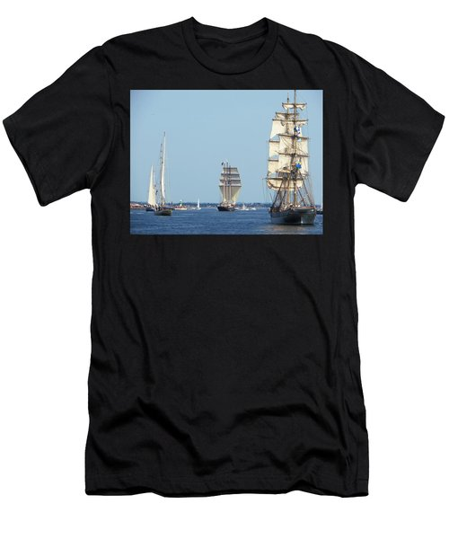 Tallships At Aarhus Men's T-Shirt (Athletic Fit)