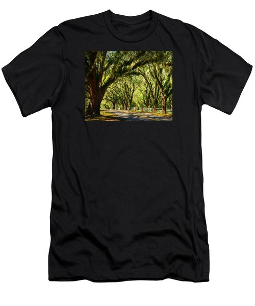 Tallahassee Canopy Road Men's T-Shirt (Slim Fit) by Carla Parris