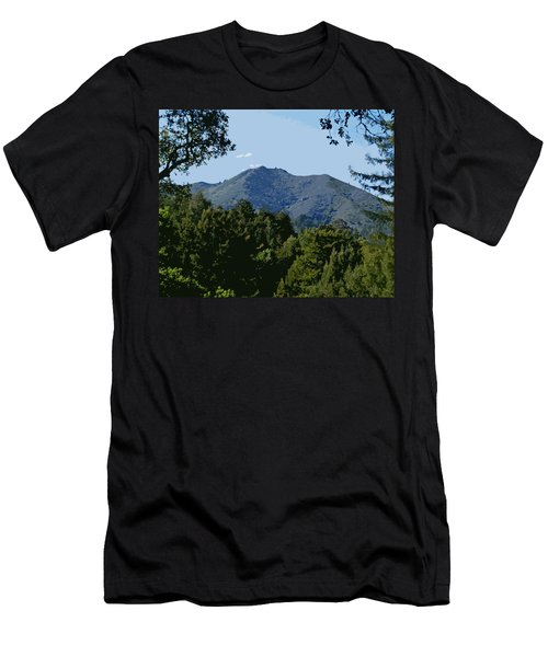 Tamalpais...the Sleeping Princess Men's T-Shirt (Athletic Fit)