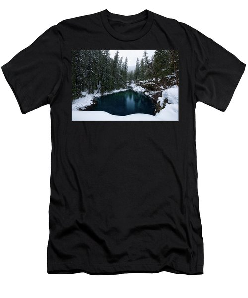 Tamolitch Pool Men's T-Shirt (Athletic Fit)