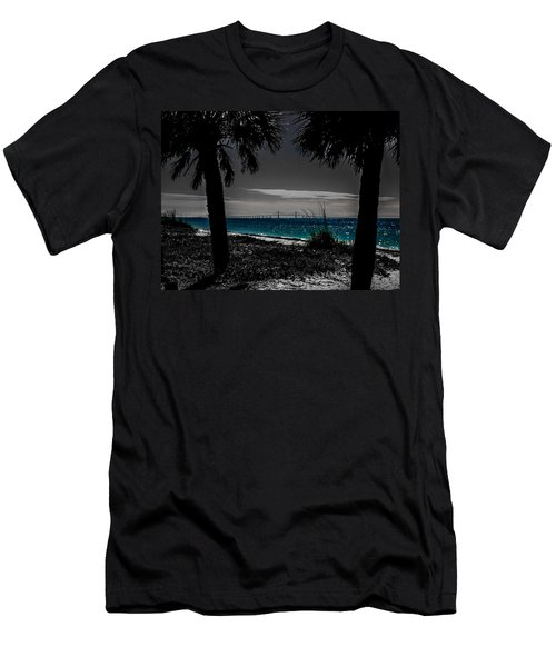 Tampa Bay Blue Men's T-Shirt (Athletic Fit)