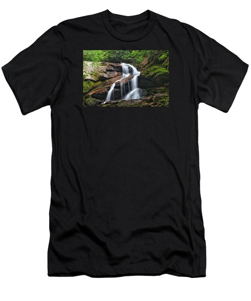 Upper Dill Falls Men's T-Shirt (Athletic Fit)