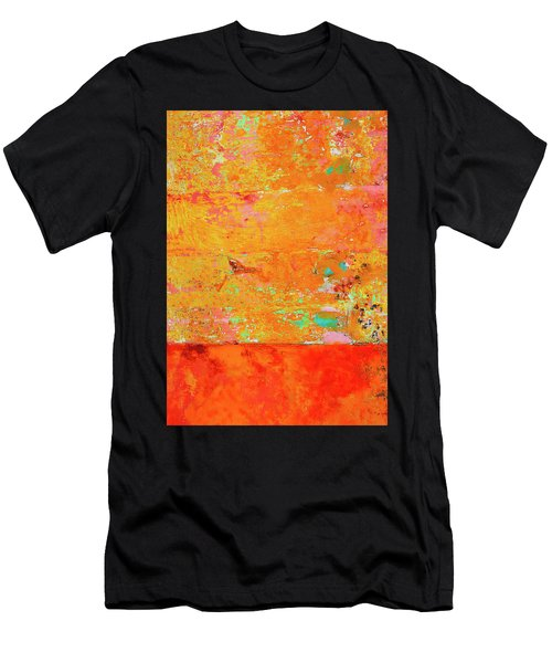 Men's T-Shirt (Slim Fit) featuring the photograph Tangerine Dream by Skip Hunt