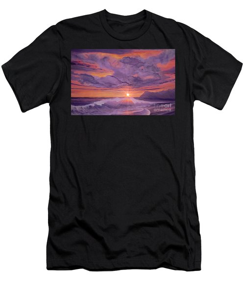 Tangerine Sky Men's T-Shirt (Athletic Fit)