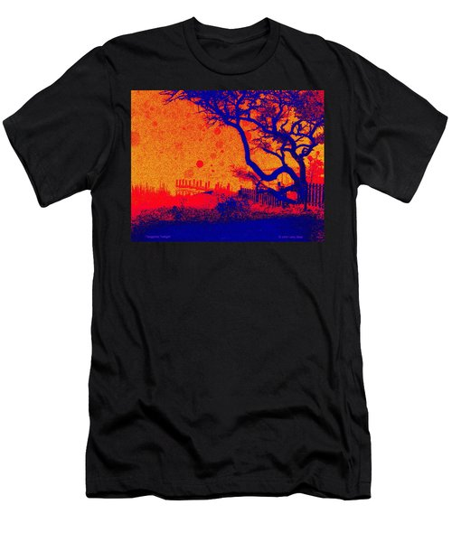 Tangerine Twilight Men's T-Shirt (Athletic Fit)
