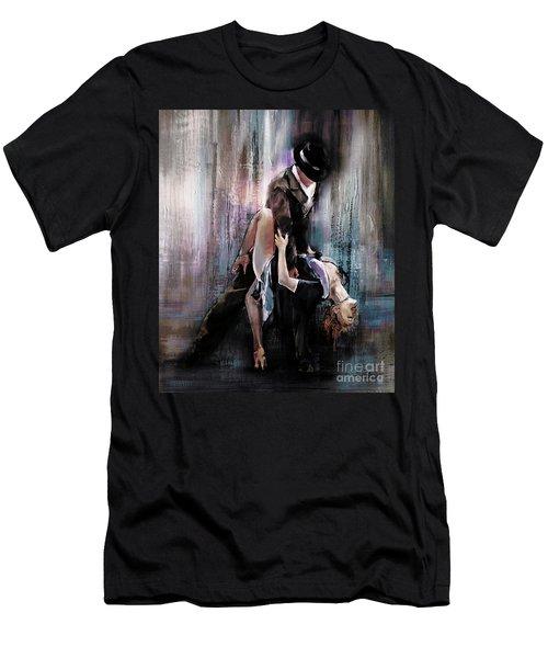 Tango Couple 05 Men's T-Shirt (Athletic Fit)