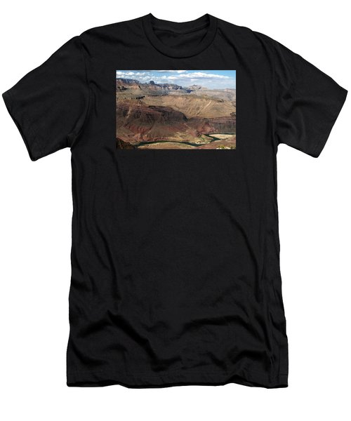 Tanner Rapids And The Colorado River Grand Canyon National Park Men's T-Shirt (Athletic Fit)