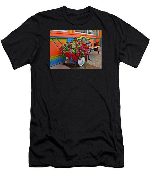 Tannersville Color Blast Men's T-Shirt (Athletic Fit)