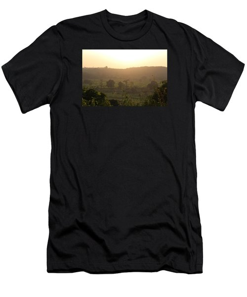 Tansa Valley, Vajreshwari From The Devi Temple Complex Men's T-Shirt (Athletic Fit)