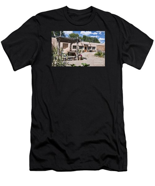Taos Adobe Complex Men's T-Shirt (Athletic Fit)