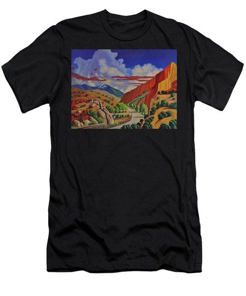 Taos Gorge Journey Men's T-Shirt (Athletic Fit)