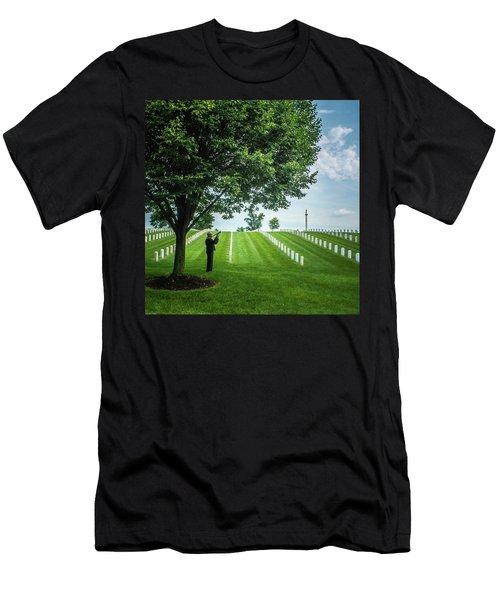 Taps Color Men's T-Shirt (Athletic Fit)