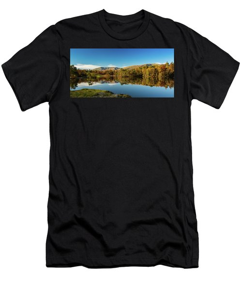 Tarn Hows Men's T-Shirt (Slim Fit) by Mike Taylor