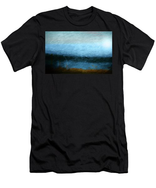 Men's T-Shirt (Slim Fit) featuring the photograph Tarn by Linde Townsend