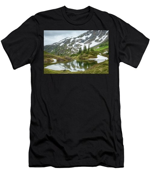 Men's T-Shirt (Athletic Fit) featuring the photograph Tarns Of Nagoon 209 by Tim Newton