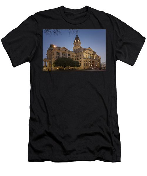Tarrant County Courthouse Rebirth Men's T-Shirt (Athletic Fit)