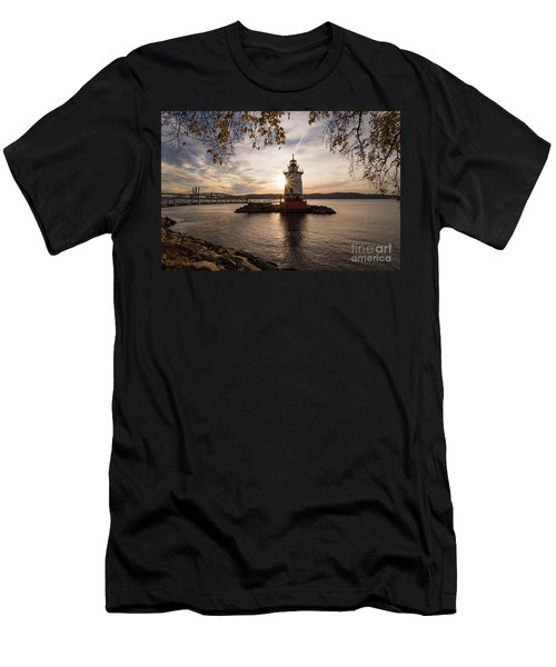 Tarrytown Lighthouse Men's T-Shirt (Athletic Fit)