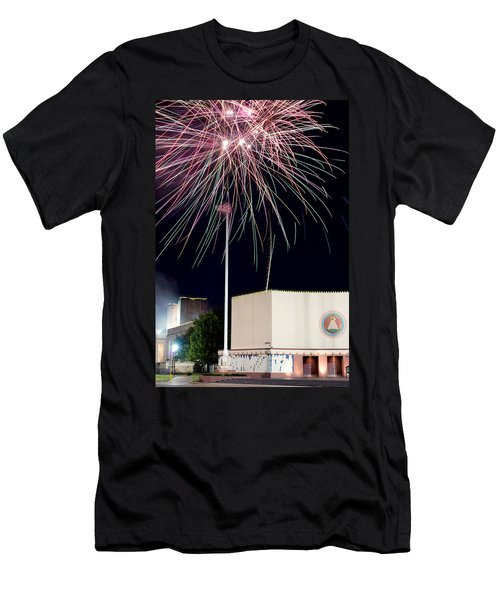 Taste Of Dallas 2015 Fireworks Men's T-Shirt (Athletic Fit)