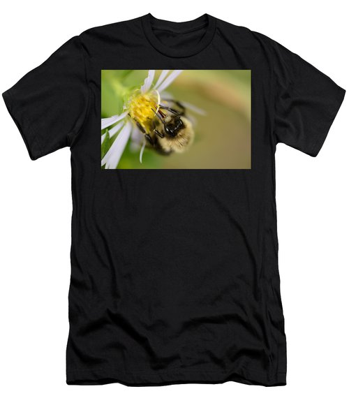Tasting The Flower Men's T-Shirt (Athletic Fit)