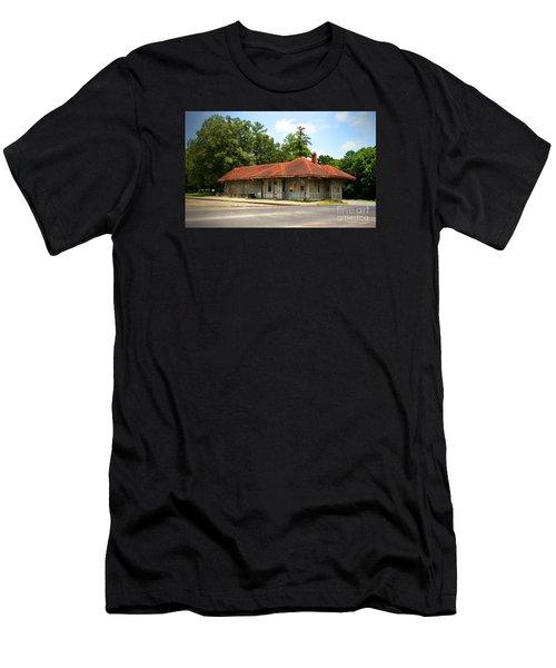 Tate, Ga, Rr Depot Men's T-Shirt (Athletic Fit)