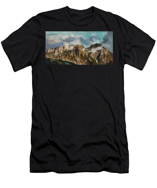 Tatry Mountains- Giewont Men's T-Shirt (Athletic Fit)