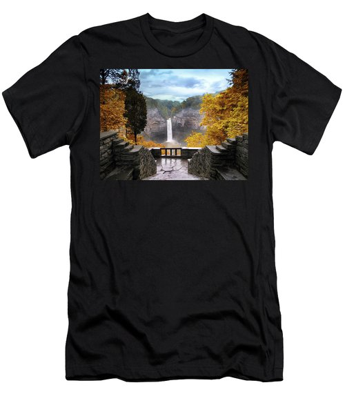 Taughannock In Autumn Men's T-Shirt (Athletic Fit)