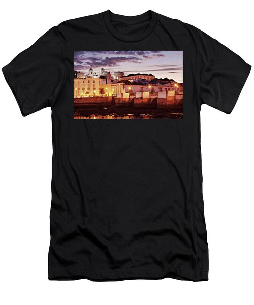 Tavira At Dusk - Portugal Men's T-Shirt (Athletic Fit)