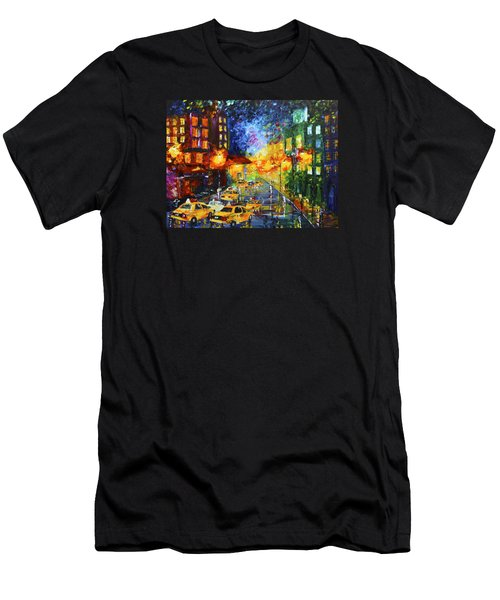 Taxi Cabs Men's T-Shirt (Athletic Fit)
