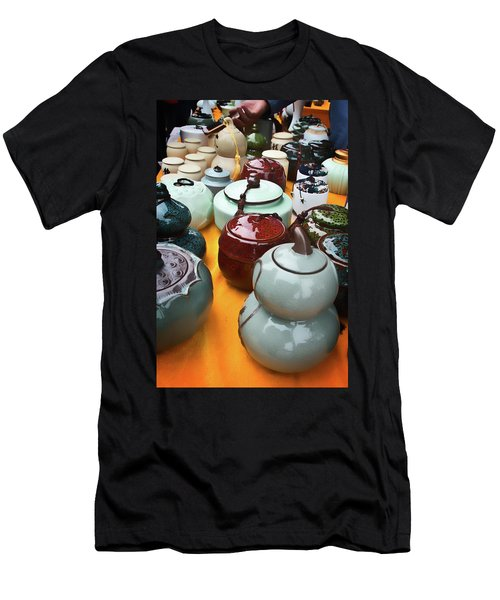 Tea Pots For Sale 3 Men's T-Shirt (Athletic Fit)