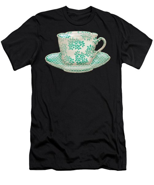 Teacup Garden Party 1 Men's T-Shirt (Athletic Fit)