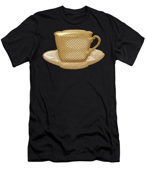 Teacup Garden Party 3 Men's T-Shirt (Athletic Fit)