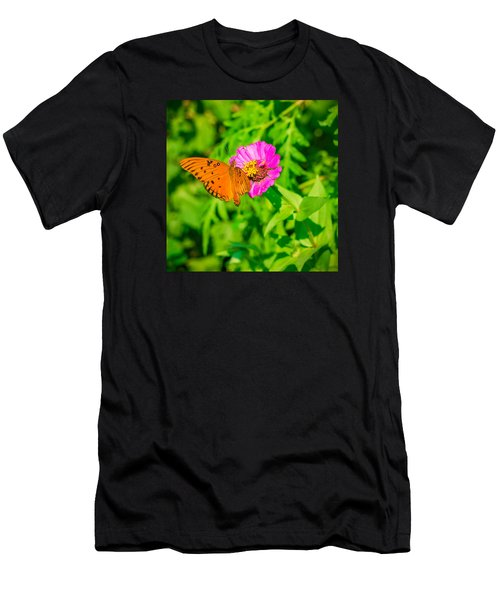 Teacup The Butterfly Men's T-Shirt (Athletic Fit)