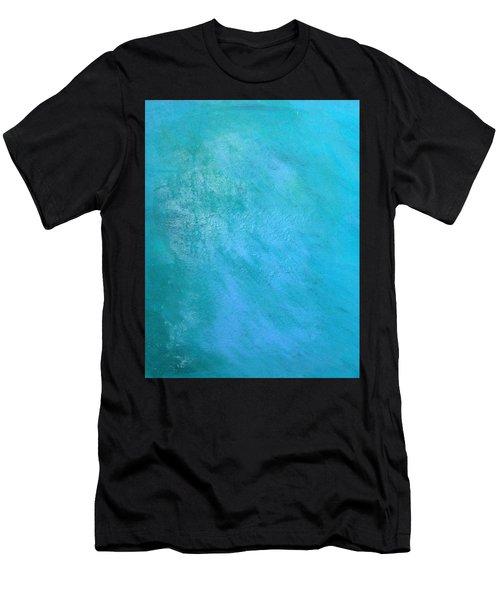 Teal Men's T-Shirt (Athletic Fit)