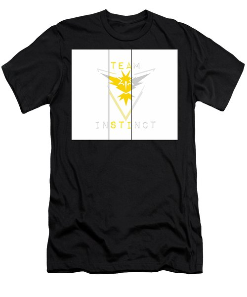 Men's T-Shirt (Athletic Fit) featuring the digital art Team Instinct by Marianna Mills